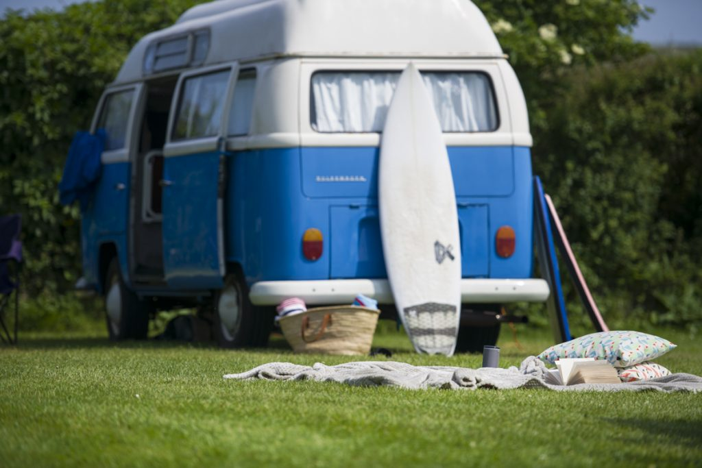 Gwithian Farm Campsite suitable for tents, motorhomes and campers