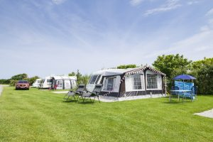 large grass pitches for tents