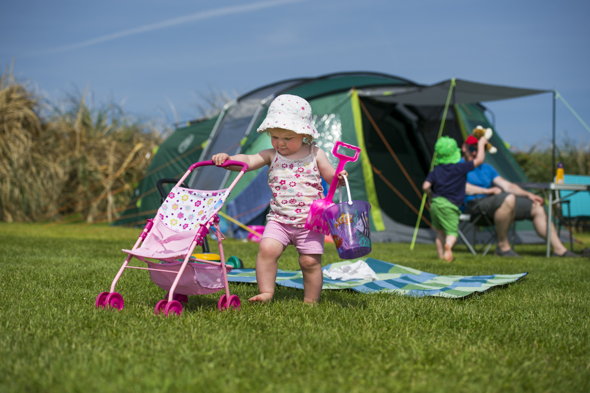 child friendly campsite