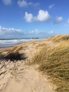 to gwithian via sandy dunes
