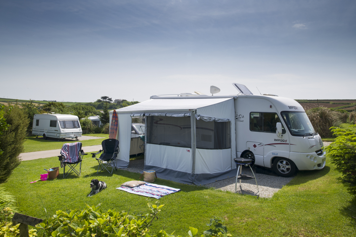 Large motorhome pitches