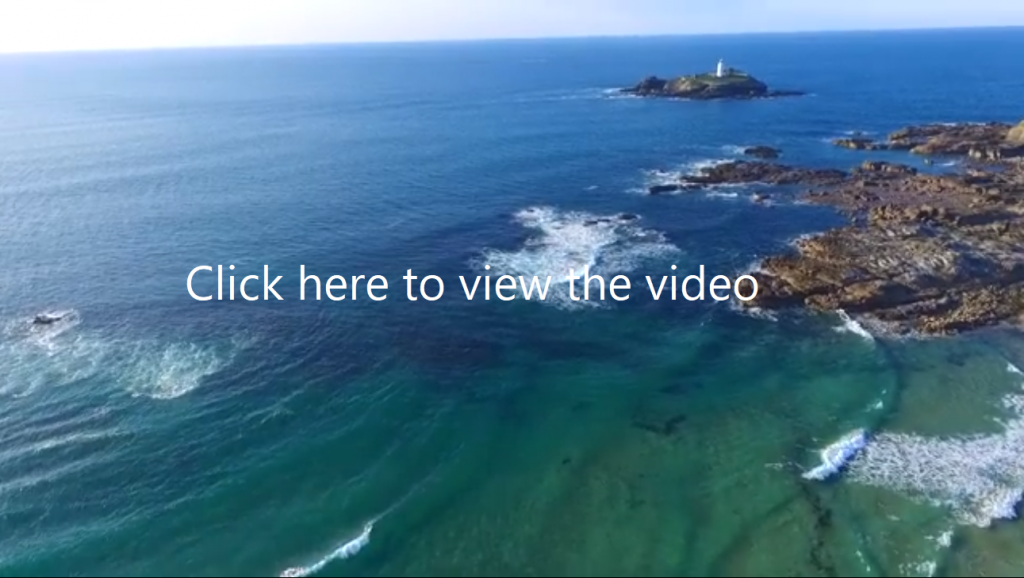 Courtesy of Hello Cornwall video featuring the beach near to us